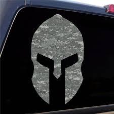 Spartan Helmet Digital Army Camo Decal Sticker Graphic 5 Etsy
