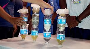 water filtration challenge activity