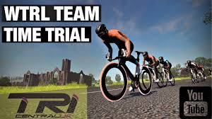 ZWIFT LIVE - WTRL TEAM TIME TRIAL - TRI CENTRAL - YouTube