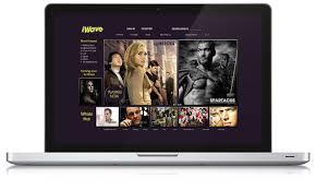 Online TV website – UK Graphic Designs