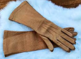 peccary gloves long leather gloves