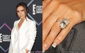 celebrity diamond enement rings