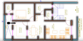 house plan for 22 feet by 42 feet plot