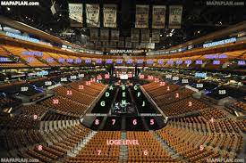 boston td garden view from section