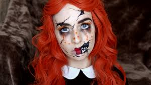 ed doll halloween makeup tutorial