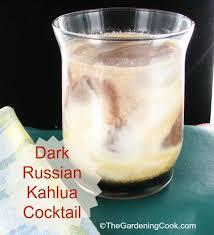 dark russian kahlua l