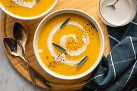 Butternut Squash and Apple Soup - From My Bowl