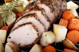 crock pot garlic pork roast recipe