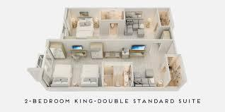2 3 bedroom suites in miami beach
