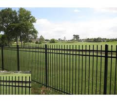 Spear Point 8 Wide X 6 Tall Three Rail Fence Panel America S Fence Store