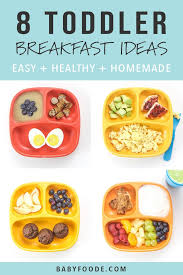 8 toddler breakfasts easy healthy
