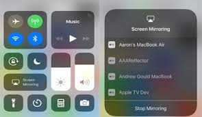 how to screen mirror ios 11 iphone and