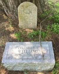 Columbia Adeline Williams (1896-1896) - Find A Grave Memorial