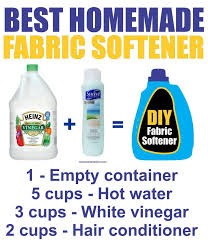 best homemade diy fabric softener