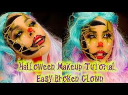 makeup tutorial scary clown