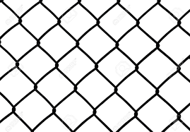 Silhouette Of Wired Fence Isolated On White Vector Illustration Royalty Free Cliparts Vectors And Stock Illustration Image 27563609