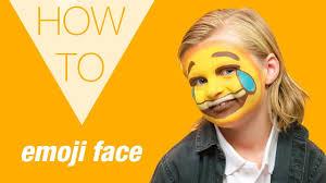 how to emoji makeup halloween 2017