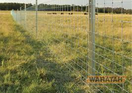 Stocksafe T Longlife Apron Prefabricated Wire Waratah Fencing