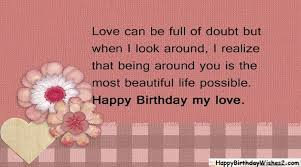 top happy birthday wishes messages quotes for lover love