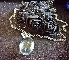 dandelion glass pendant make a wish