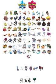 The regional galar Pokédex is out! en 2020