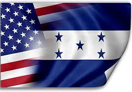 Amazon Com Expressitbest Sticker Decal With Flag Of Honduras And Usa Honduran Home Kitchen