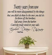 Amazon Com Twenty Years From Now Mark Twain 3 Wall Decal 22 X 29 Everything Else