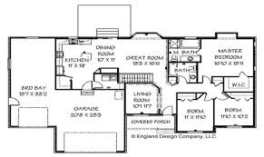 these year large ranch home floor plans