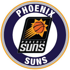 Phoenix Suns Circle Logo Vinyl Decal Sticker 5 Sizes Sportz For Less