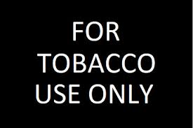 For Tobacco Use Only Vinyl Decal Sign Multiple Sizes To Choose From Ebay