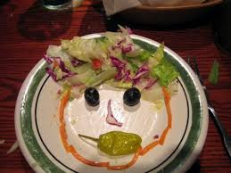 healthy food options at olive garden