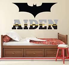 Amazon Com Batman Art Kids Room Decor Home Decor Home Kitchen