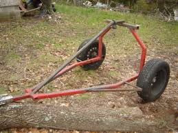 atv log skidder in sawmillilling