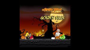 Angry Birds Seasons - Trick or Treat Golden Eggs Walkthrough - YouTube