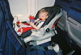 baby car seats on airplanes لم يسبق له
