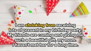 ucapan ulang tahun buat diri sendiri dalam bahasa inggris