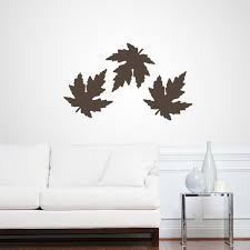 Set Of Leaves Wall Decals Home Decor Wall Decals