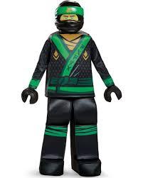 Child's Boys Prestige LEGO® Ninjago Movie Green Ninja Lloyd ...