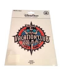 Disney Auto Window Decal Disney Vacation Club Member Auto