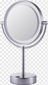 mirror light magnifying glass cosmetics