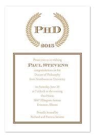 sophisticated graduate graduation invitations phd graduation