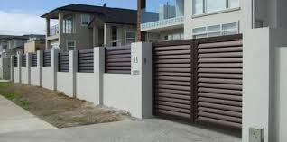 Image Result For Aluminium Sliding Gates Nz House Gate Design Main Entrance Door Design Entrance Gates Design