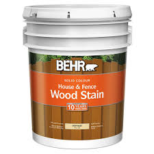 Behr Solid Colour House Fence Wood Stain Deep Base No 30 18 9 L The Home Depot Canada