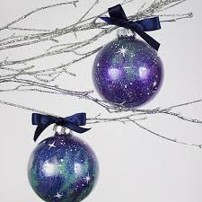 fill a clear glass ornament