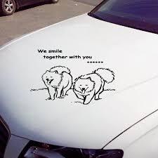 Samoyed Car Sticker