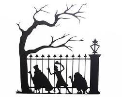 Halloween Tree Decal Etsy