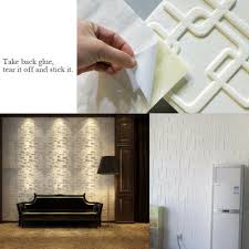 3d Removable Brick Wall Sticker Decor Self Adhesive Living Room Home Wall Decal Home Garden Children S Bedroom 3d Decor Decals Stickers Vinyl Art