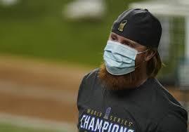MLB says Justin Turner violated ...