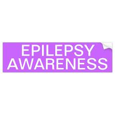 Epilepsy Awareness Bumper Sticker Zazzle Com