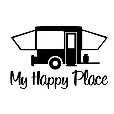 2020 16 10 2cm Pop Up Camper Travel Trailer Hiker Decal Sticker Tent Hiking Car Accessories Motorcycle Helmet Car Styling From Xymy777 1 69 Dhgate Com